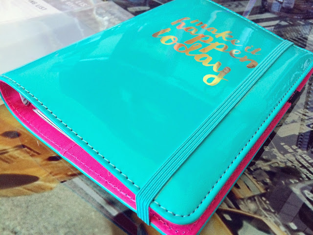 paperchase make it happen personal organiser