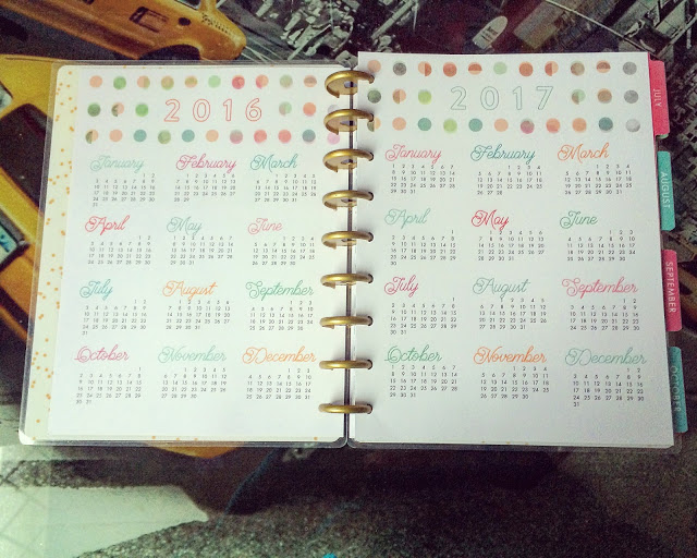 happy planner hello life diary pages
