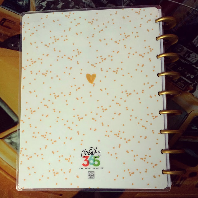 happy planner hello life back cover